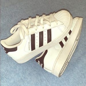 Adidas superstar youth size 11 1/2